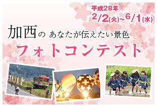 ふるさと加西の春フォトコンテスト作品募集中!